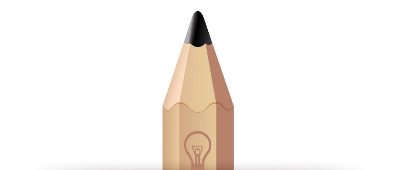 Crayon papier, outil d'un graphiste freelance