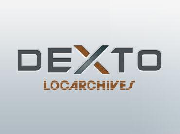 Création du logo Dexto pour le Nouvel Espace Client Locarchives