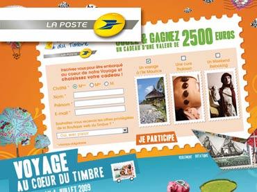 Vignette du jeu concours online La Poste