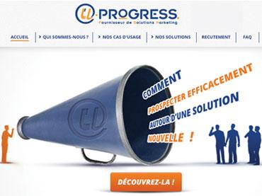 Réalisation du site web de l'entreprise U-Progress. Graphisme et développement cms Joomla sur mesure.