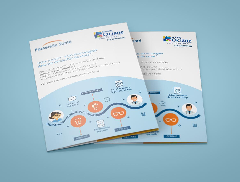 EquaSanté Leaflet-brochure A5 : Première de couverture