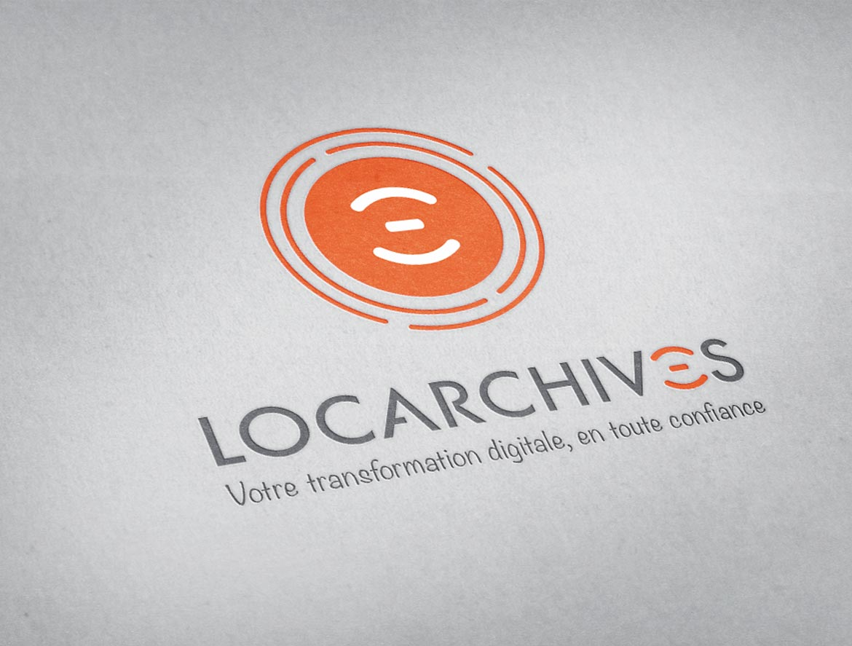 Design logo & sigle Locarchives
