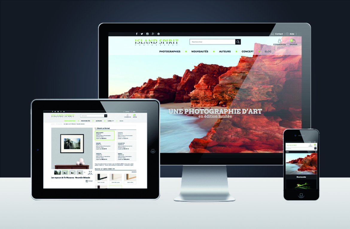 Site Responsive Web Design (Grille Bootstrap)